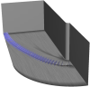 Section planes in blunt fin dataset